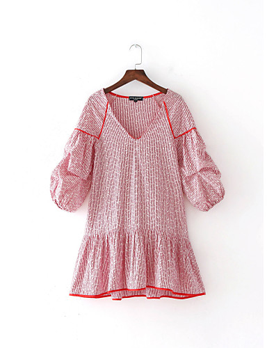 Women's Holiday Going out Daily Simple Sexy Street chic Loose Dress