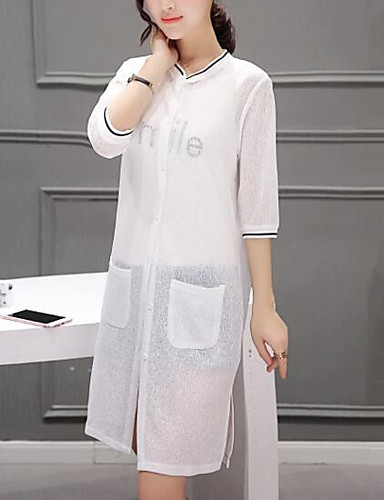 Women's Sports Going out Daily Casual Summer Fall Coat