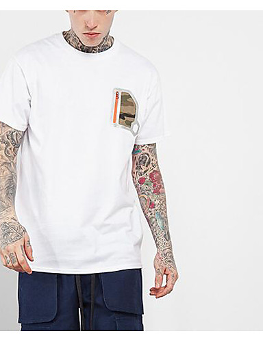 Men's Sports Going out Daily Casual Street chic Active Spring Summer T-shirt