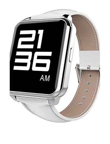 Men's Smart Watch Fashion Watch Digital Water Resistant / Water Proof PU Band Black White