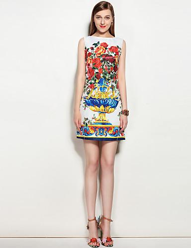 Mary Yan & Yu Women's Cute Street chic A Line Dress - Floral