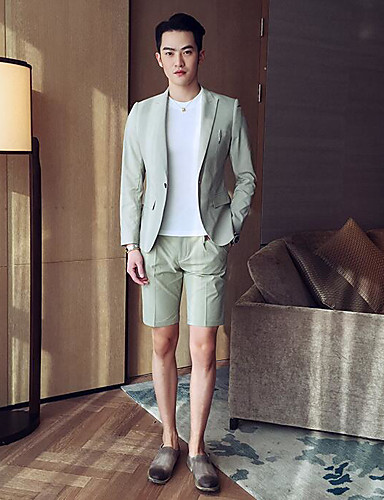 Men's Casual/Daily Casual Spring/Fall Suit