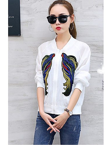 Women's Casual Casual Spring Jacket,Solid V Neck Long Sleeve Regular Cotton Oversized