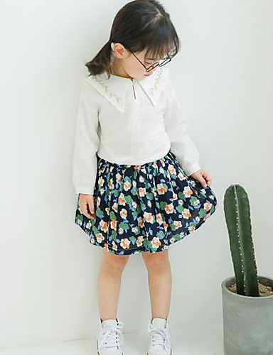 Girls' Solid Shorts-Others Summer