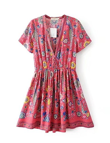 Women's Holiday Going out Daily Simple Street chic Loose Dress