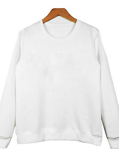 Women's Cotton Sweatshirt - Letter