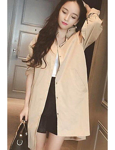 Women's Daily Casual Summer Trench Coat
