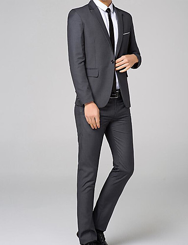 Men's Daily Work Going out Sexy Spring/Fall Suit