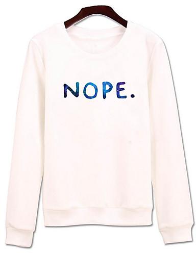 Women's Holiday Cotton Sweatshirt - Letter