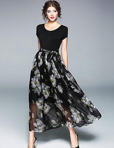 Women's Daily A Line Swing Dress