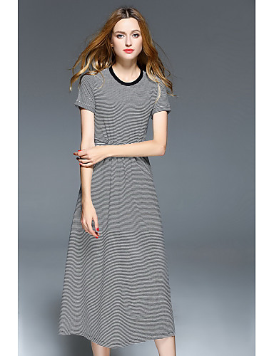 Women's Going out Daily Simple T Shirt Dress