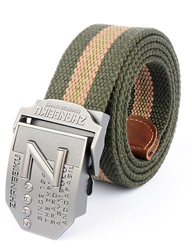 Homens Liga, Cinto para a Cintura - Listas Retalhos