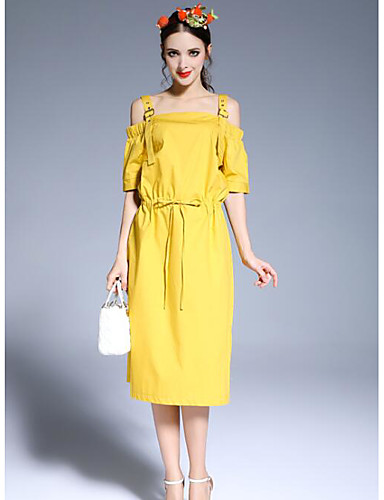 Women's Daily Simple A Line Dress