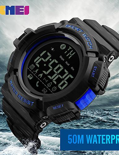 Homens Digital Relogio digital Relógio de Pulso Relógio inteligente Relógio Militar Relógio Esportivo Chinês Calendário Cronógrafo