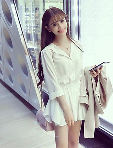 Women's Daily Shirt Dress