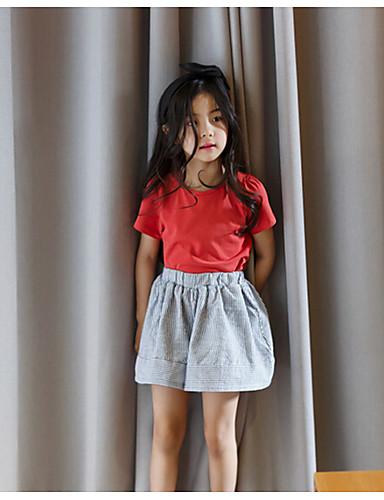 Jente Shorts Stripe Sommer