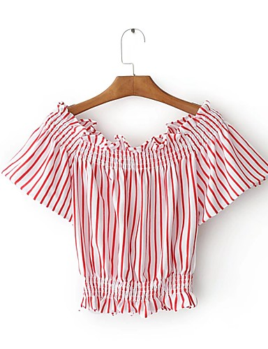 Women's Going out Daily Casual Street chic Summer Shirt