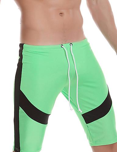 Men's Sporty Bottoms - Color Block Board Shorts