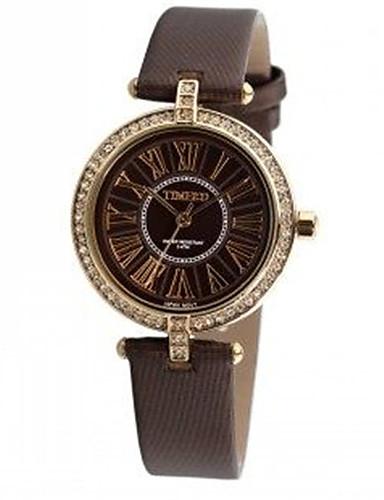 Women's Fashion Watch Quartz Leather Band Black White Brown