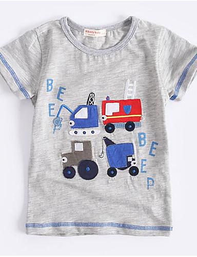 Jungen T-Shirt Geometrisch Baumwolle Sommer