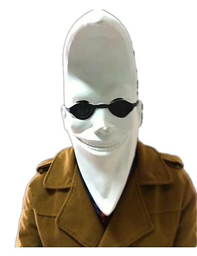 billige Cosplay og kostumer-Zombie Monster Cosplay Halloweentillbehör Maskerade Unisex Halloween Karneval Festival / Højtider Hvid Karneval Kostume Vintage