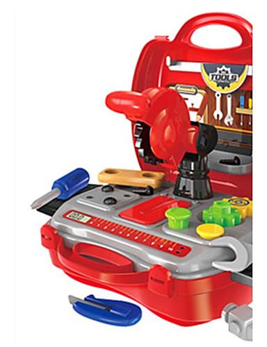 voordelige Speelgoedgereedschap-Bouwgereedschap Doen alsof-spelletjes Speelgoedgereedschap Jongens Veiligheid Kinderen