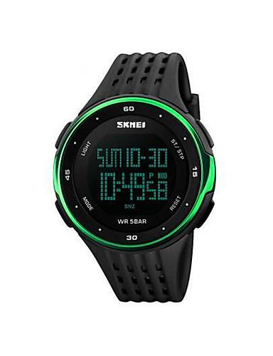 Homens Digital Relogio digital Único Criativo relógio Relógio de Pulso Relógio inteligente Relógio Esportivo Chinês Calendário Cronógrafo