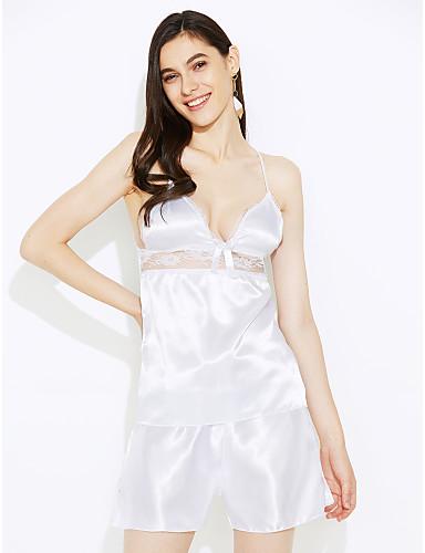 Damen Sexy Besonders sexy Passende Bralettes Nachtwäsche - Spitze Gitter, Patchwork