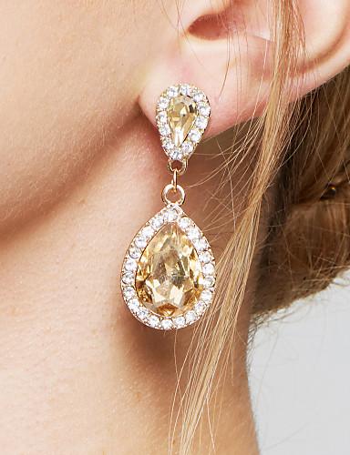 89e017264382a Crystal Earrings Online   Crystal Earrings for 2019