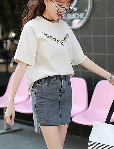 Damen Einfach Lässig/Alltäglich Mini Röcke Bodycon einfarbig Sommer