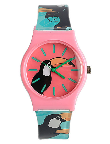 Quartz Armbanduhr Japanisch / Plastic Band Freizeit Elegant Modisch Mehrfarbig