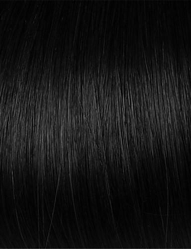billige Blondeparykker med menneskehår-Remy Menneskehår Halvblonder uten lim Blonde Forside Parykk stil Brasiliansk hår Rett Yaki Parykk 130% 150% 180% Hair Tetthet med baby hår Naturlig hårlinje 100% Jomfru ubehandlet Dame Kort Medium