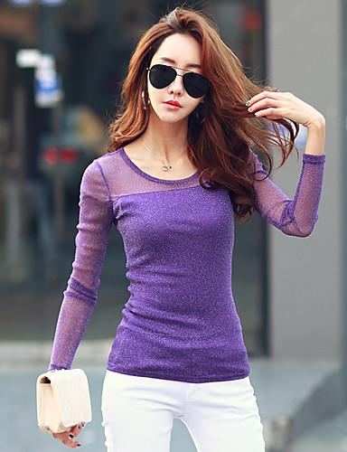 Alkalmi Női Póló - Egyszínű