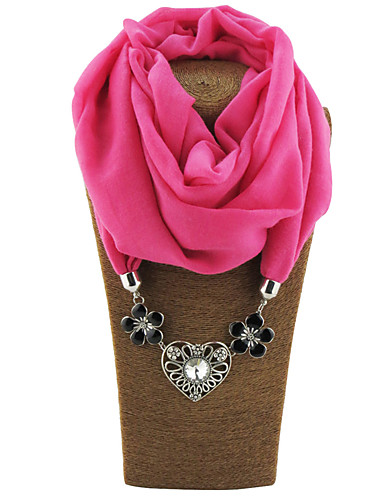 Women's Basic Infinity Scarf - Solid Colored