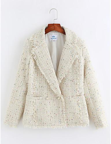Damen - Punkt Einfach Mantel