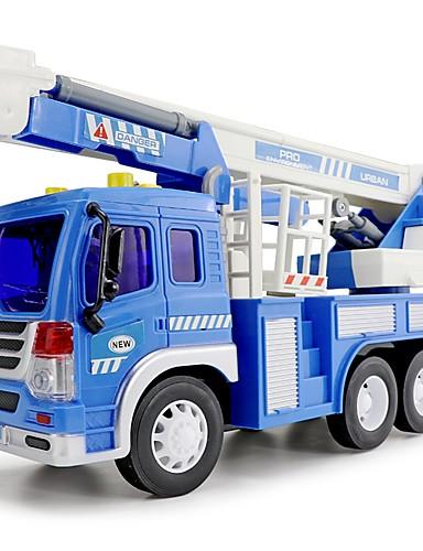 billige Lekebiler i støpejern-Lekebiler LED-belysning Lekesett Kjøretøy Mote Bil Singing Nytt Design Andre Material Barne Gutt Jente Leketøy Gave