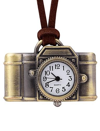 Damskie Kwarcowy Zegarek kieszonkowy Chiński Na codzień Skóra Pasmo Na co dzień Brązowy