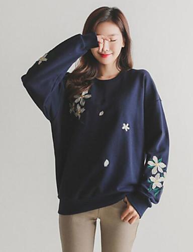 Damen Pullover - Druck Baumwolle