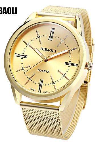 JUBAOLI Damskie Kwarcowy Zegarek na nadgarstek Chiński Gorąca wyprzedaż Stop Pasmo Urok Unikalny twórczy zegarek Złoty