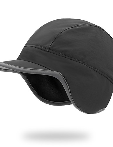 e6bb2490020 Hiking Hat Hat Windproof Back Country Heat Retaining Autumn   Fall Winter  Black Rose Red Dark Gray Unisex Camping   Hiking Winter Sports Solid  Colored   ...