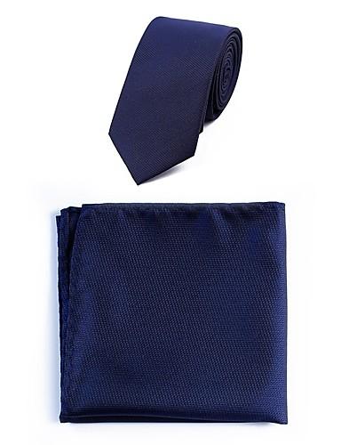 Męskie Krawat - Poliester, Kropki