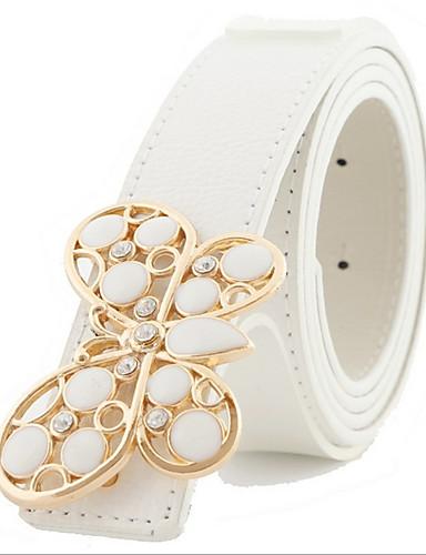 cheap Women's Belt-Women's Casual Leather / Alloy Waist Belt