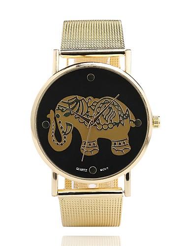 בגדי ריקוד נשים שעון יד Chinese לוכד חלומות מתכת אל חלד להקה יום יומי / מינימליסטי כסף / שנה אחת / Jinli 377
