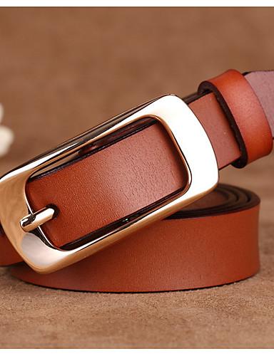 Mujer Piel Cinturón de Cintura - Activo Básico Un Color 50339c31312f