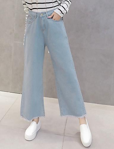 בגדי ריקוד נשים כותנה צ'ינו מכנסיים אחיד
