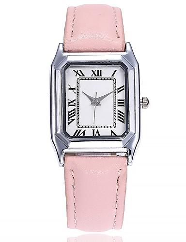 72c21480c Dámské Náramkové hodinky Křemenný Kůže Černá / Modrá / Hnědá Velký ciferník  Analogové dámy Na běžné