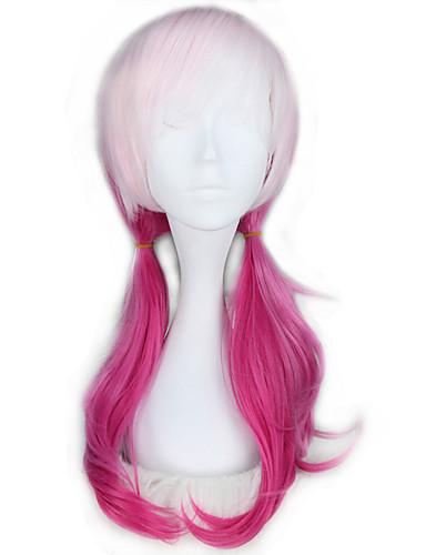 voordelige Cosplay Pruiken-Guilty Crown Cosplay Cosplaypruiken Dames Meisjes 24 inch(es) Hittebestendige vezel Roze Anime