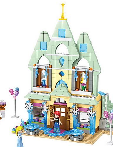 billige Byggeblokker-Byggeklosser Konstruksjonssett Leker Pedagogisk leke mytologi Eventyr Tema Arkitektur kompatibel Legoing utsøkt Foreldre-barninteraksjon Anime Gutt Jente Leketøy Gave