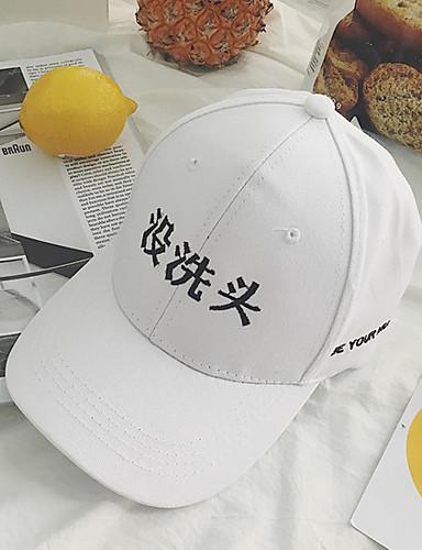 לבן שחור כובע בייסבול כובע שמש כותנה קיץ סתיו יום יומי
