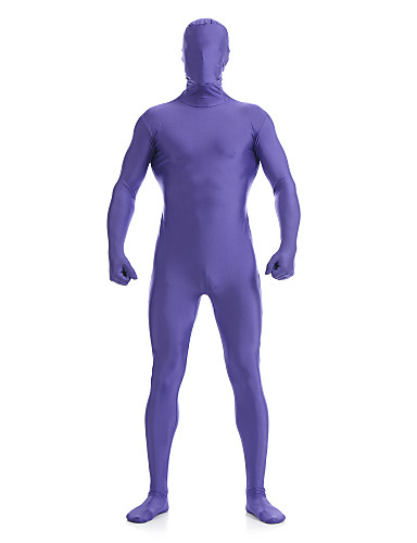 927d90563fd39b Zentai Suits Skin Suit Full Body Suit Ninja Adults' Cosplay Costumes Purple  Solid Colored Spandex Lycra Men's Women's Halloween Masquerade #06576220